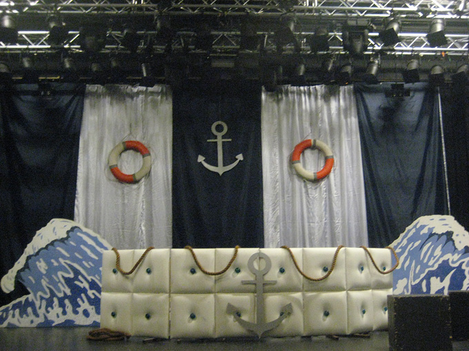 navy dj-booth